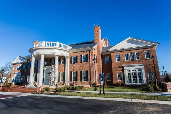 Longwood Admissions Building
