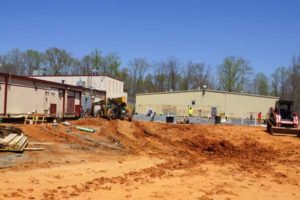 Piedmont Regional Jail extension project