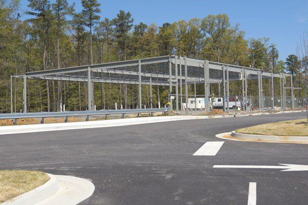 Iron Bridge Market: New Building