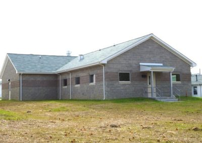 Fort Pickett: New Dining Hall
