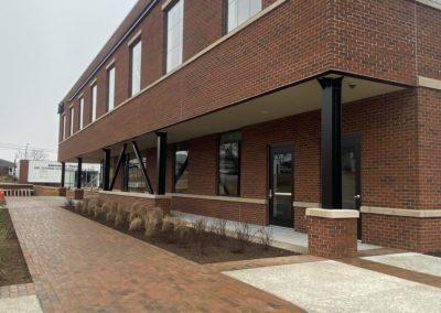 Holman Masonry work for SOVA Innovation Hub in South Boston, VA