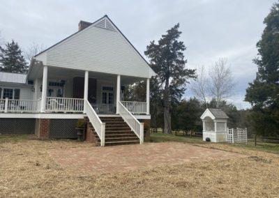 Holman Masonry work for residential house on Meherrin Road in Virginia